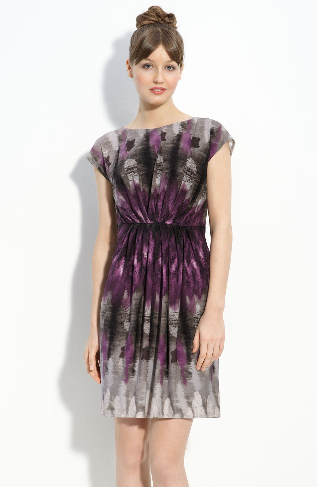 Main Image - Suzi Chin for Maggy Boutique Print Jersey Dress
