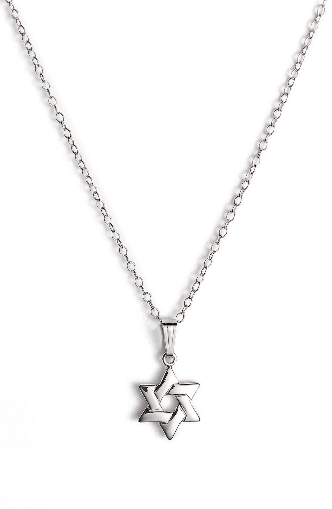 Alternate Image 1 Selected - Star of David Pendant (Infant)