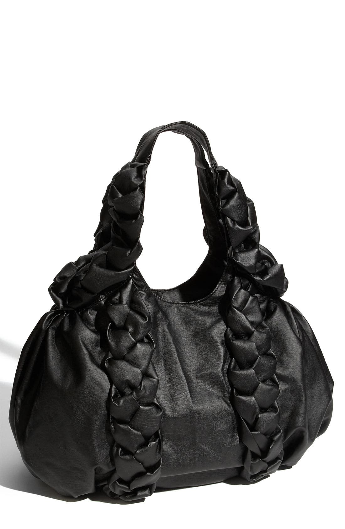 Main Image - Melie Bianco Braided Faux Leather Hobo