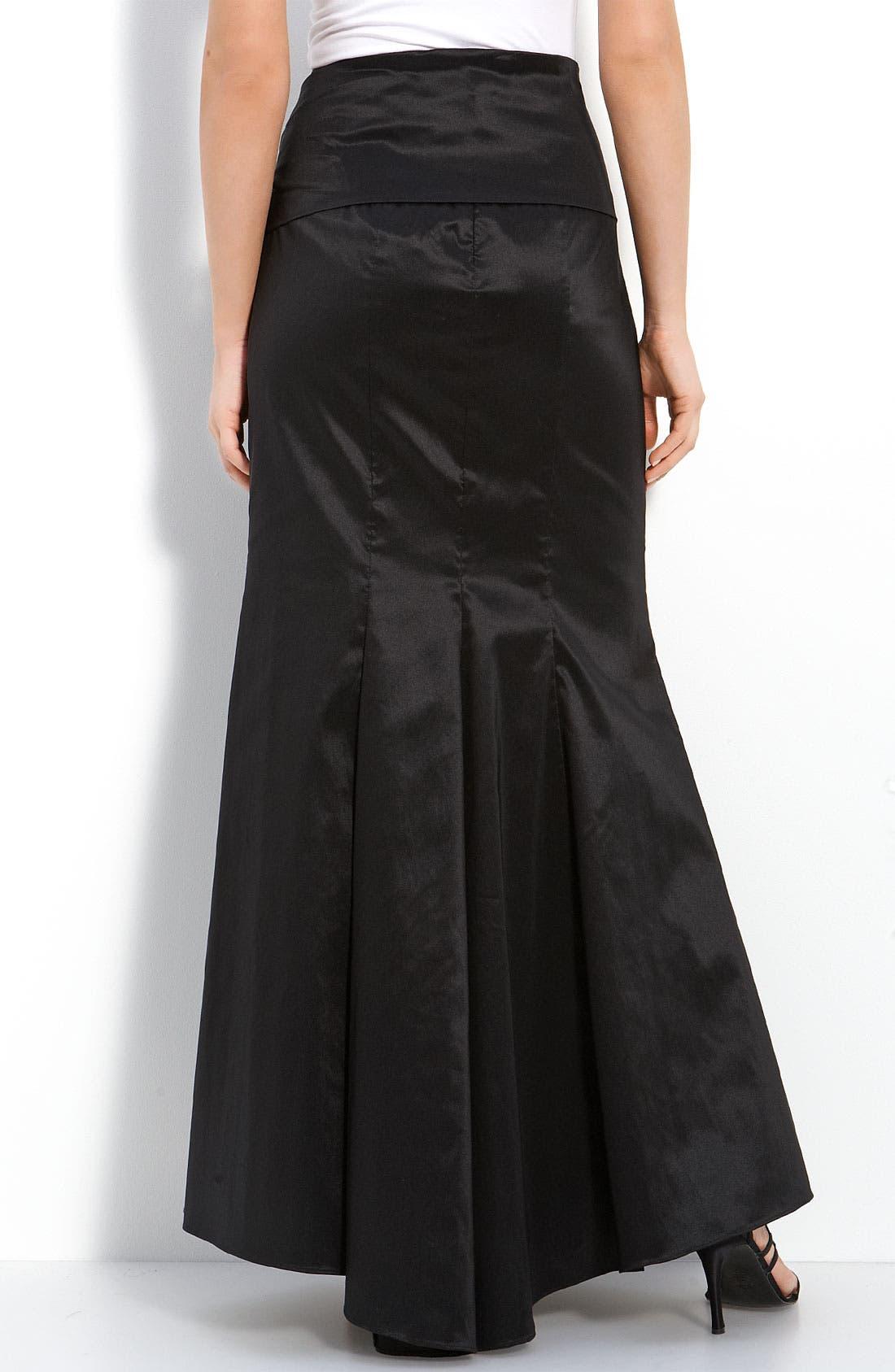 Alternate Image 2  - Adrianna Papell Taffeta Skirt