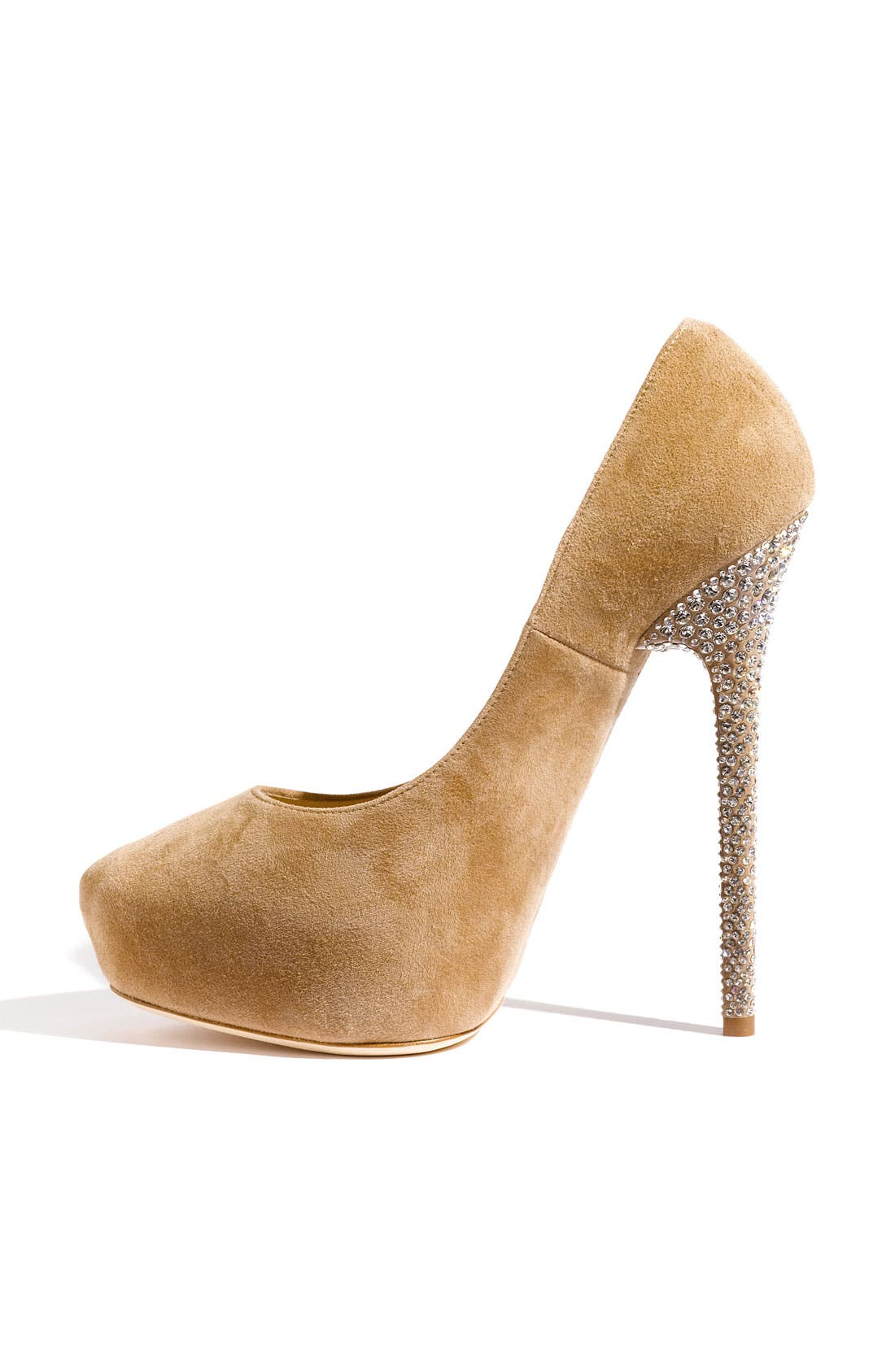 Alternate Image 2  - Jimmy Choo 'Esam' Crystal Heel Platform Pump