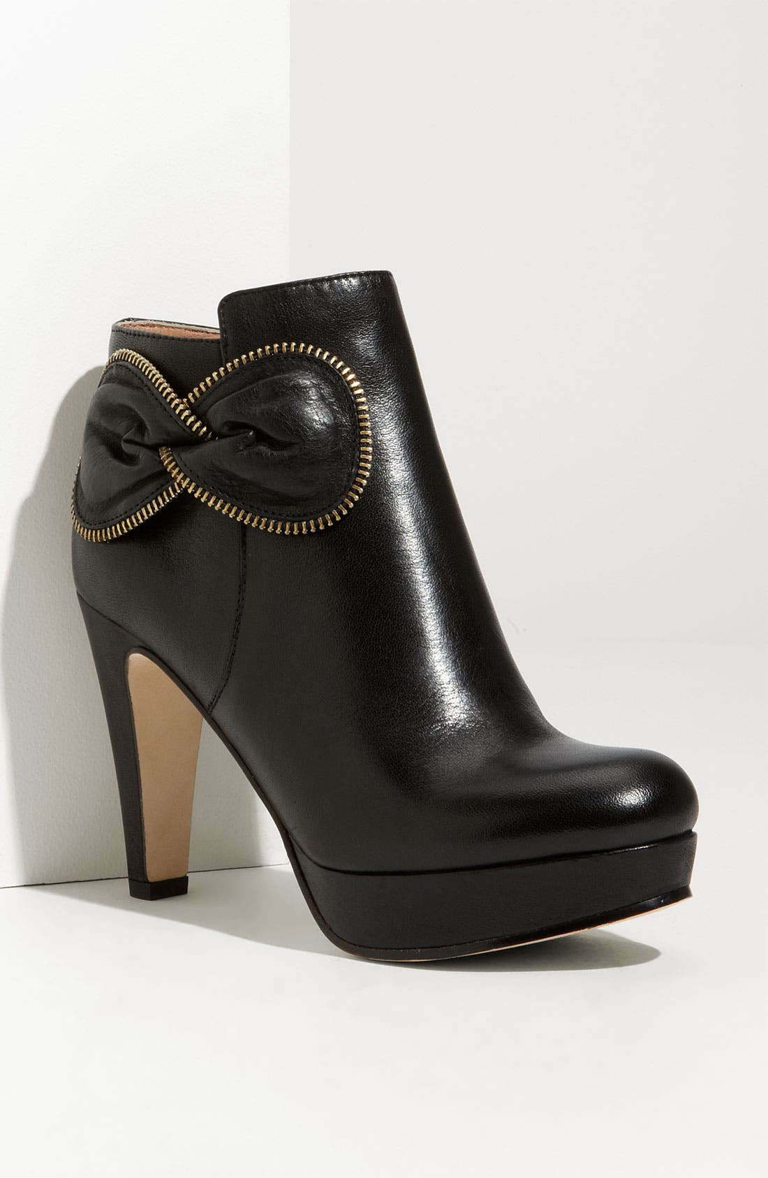 Alternate Image 1 Selected - See by Chloé Zip Bow Leather Bootie