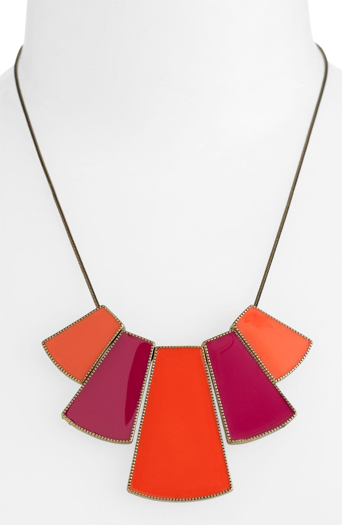 Alternate Image 1 Selected - Stephan & Co. Colorblock Necklace