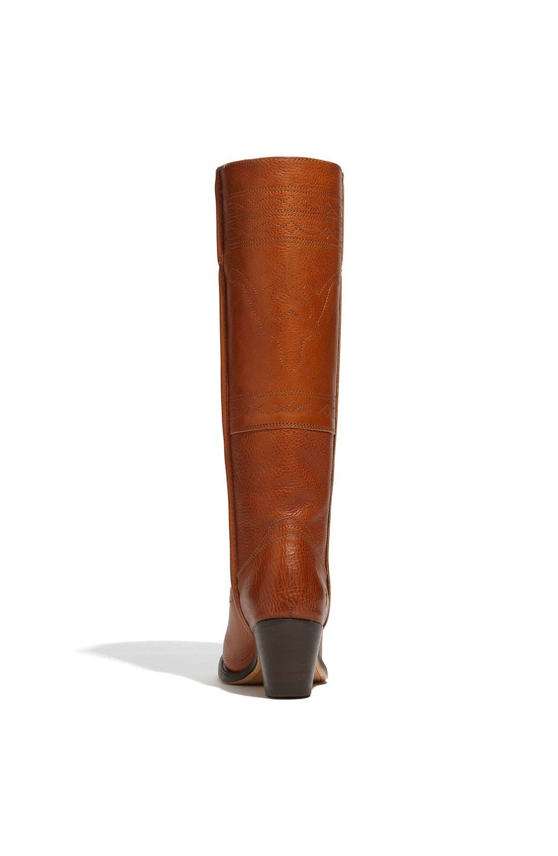 Alternate Image 4  - Frye 'Jane Stitching Horse' Boot