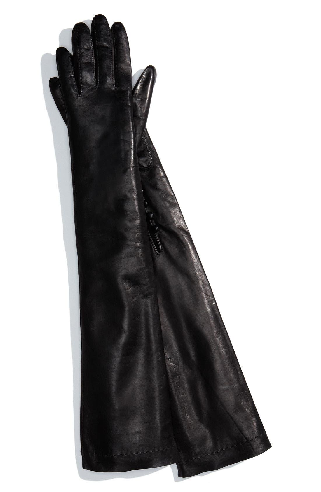 Alternate Image 1 Selected - Nordstrom Long Opera Gloves