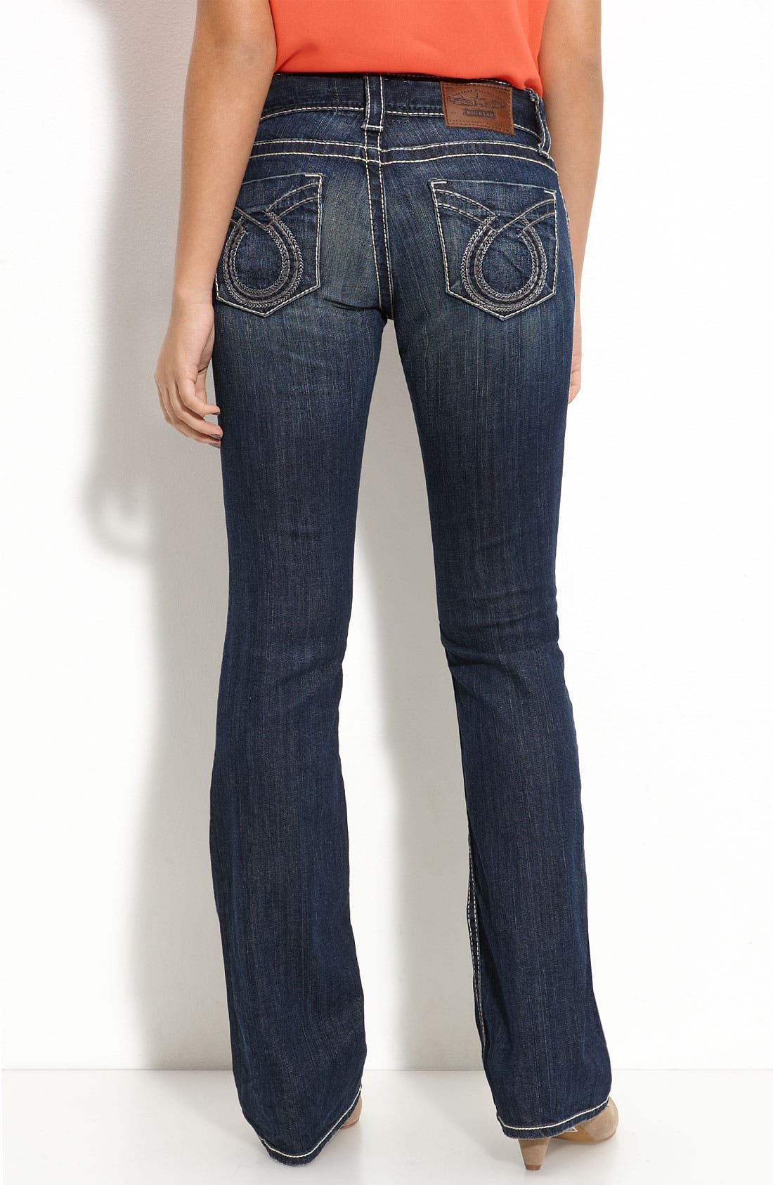 Main Image - Big Star 'Sophie' Bootcut Jeans (Juniors)