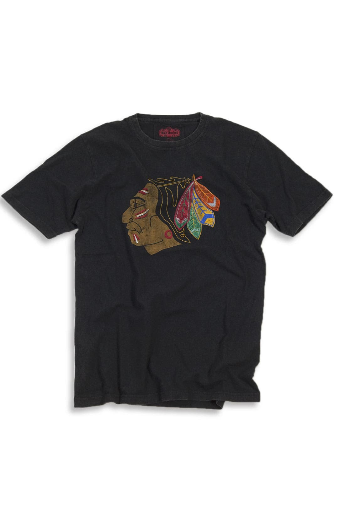 Alternate Image 1 Selected - Red Jacket 'Chicago Blackhawks - Brass Tack' T-Shirt (Men)