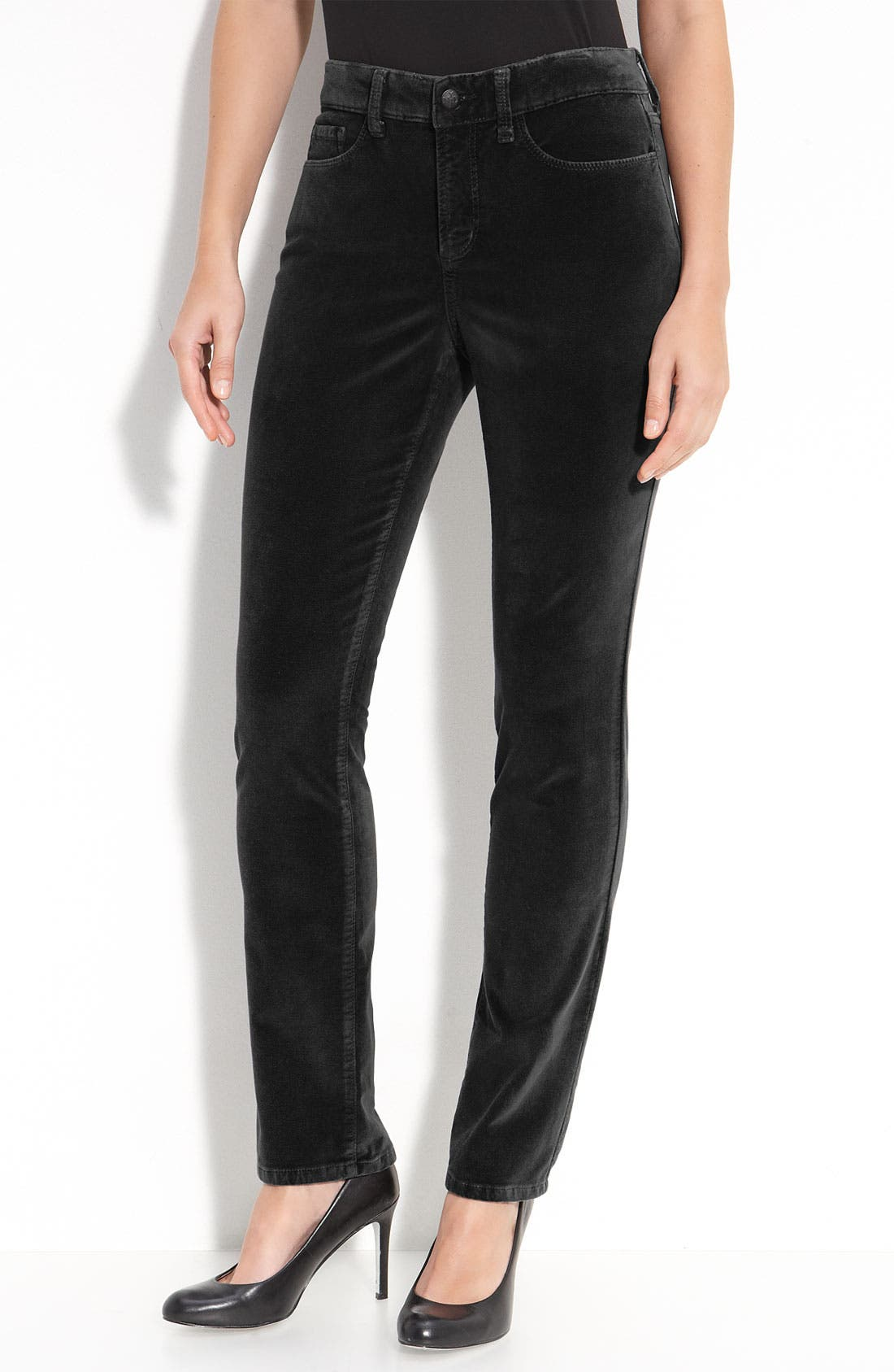 Alternate Image 1 Selected - NYDJ Skinny Velvet Pants
