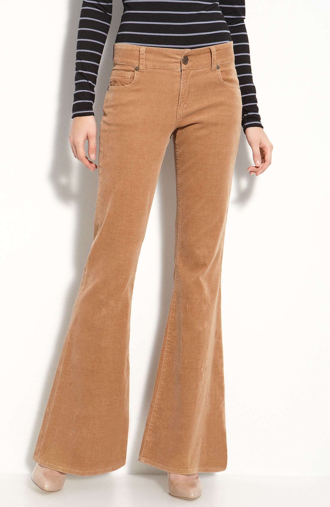 Alternate Image 1 Selected - KUT from the Kloth Flare Leg Corduroy Pants