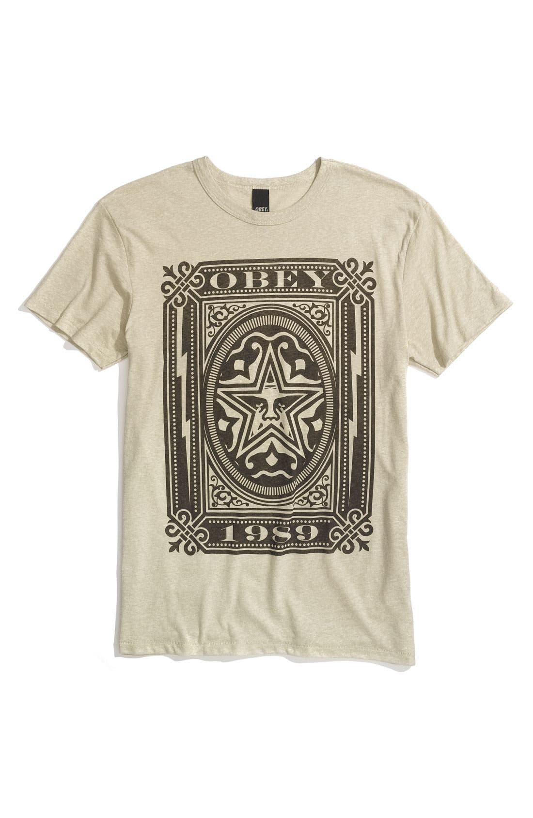 Alternate Image 1 Selected - Obey 'Imperial' Screenprint T-Shirt