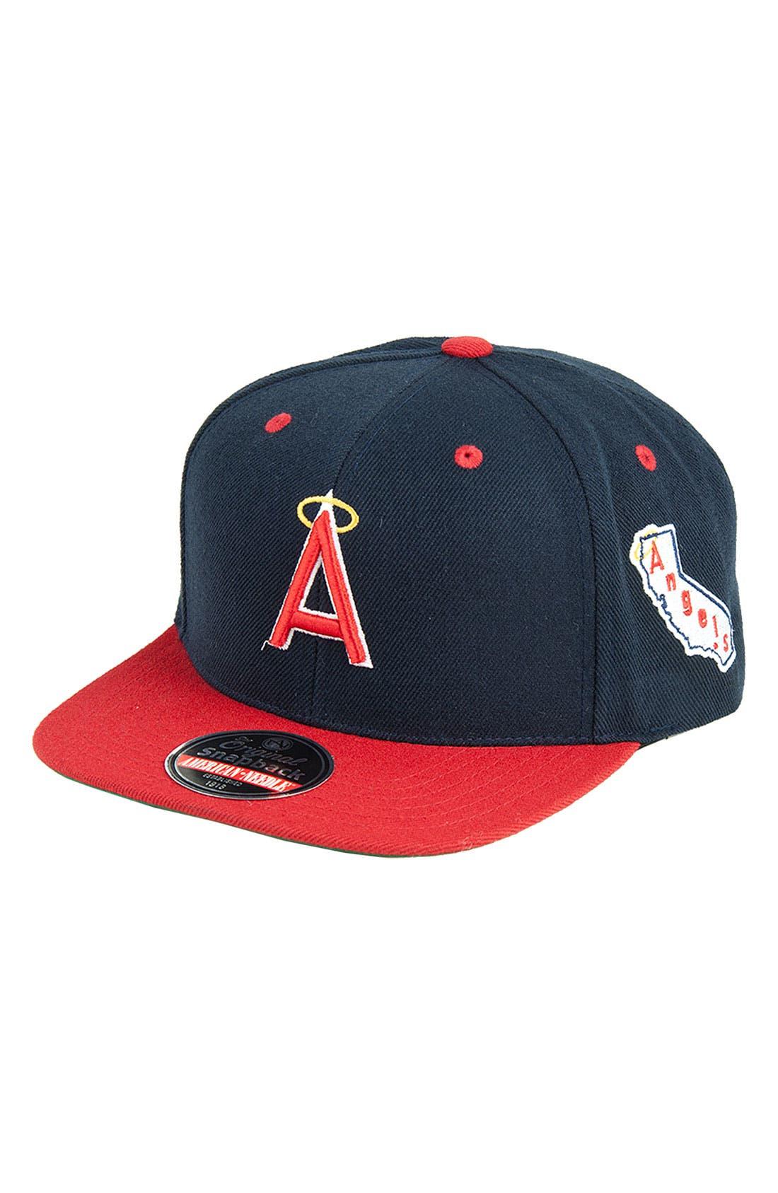 Alternate Image 1 Selected - American Needle 'Blockhead Angels' Snapback Baseball Cap