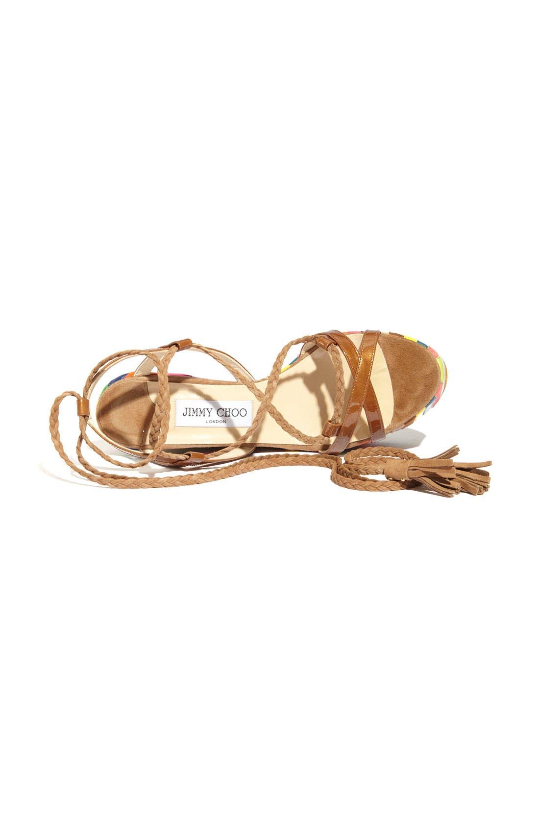 Alternate Image 3  - Jimmy Choo 'Pearl' Wedge Sandal