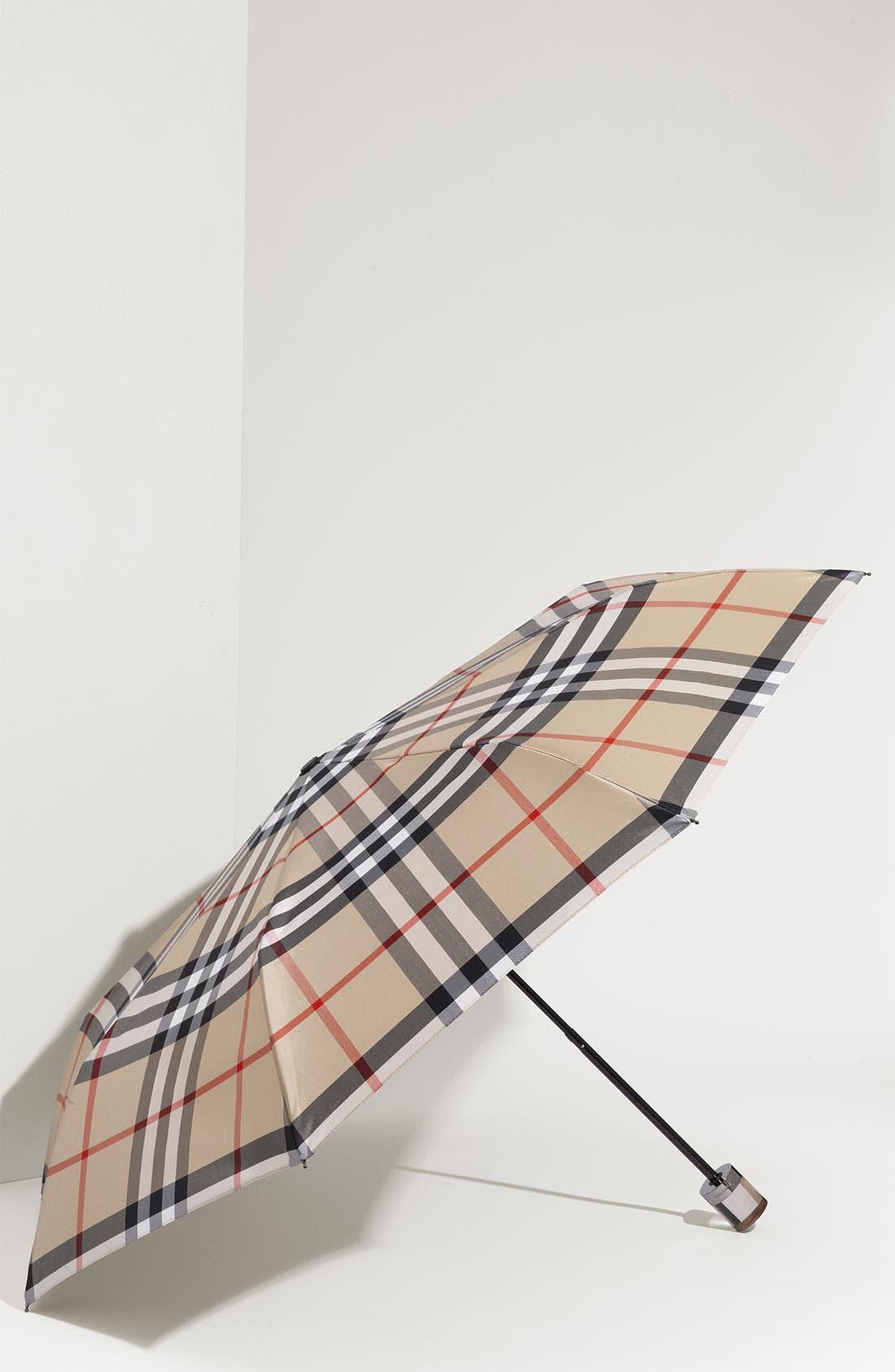 Alternate Image 1 Selected - Burberry Umbrella