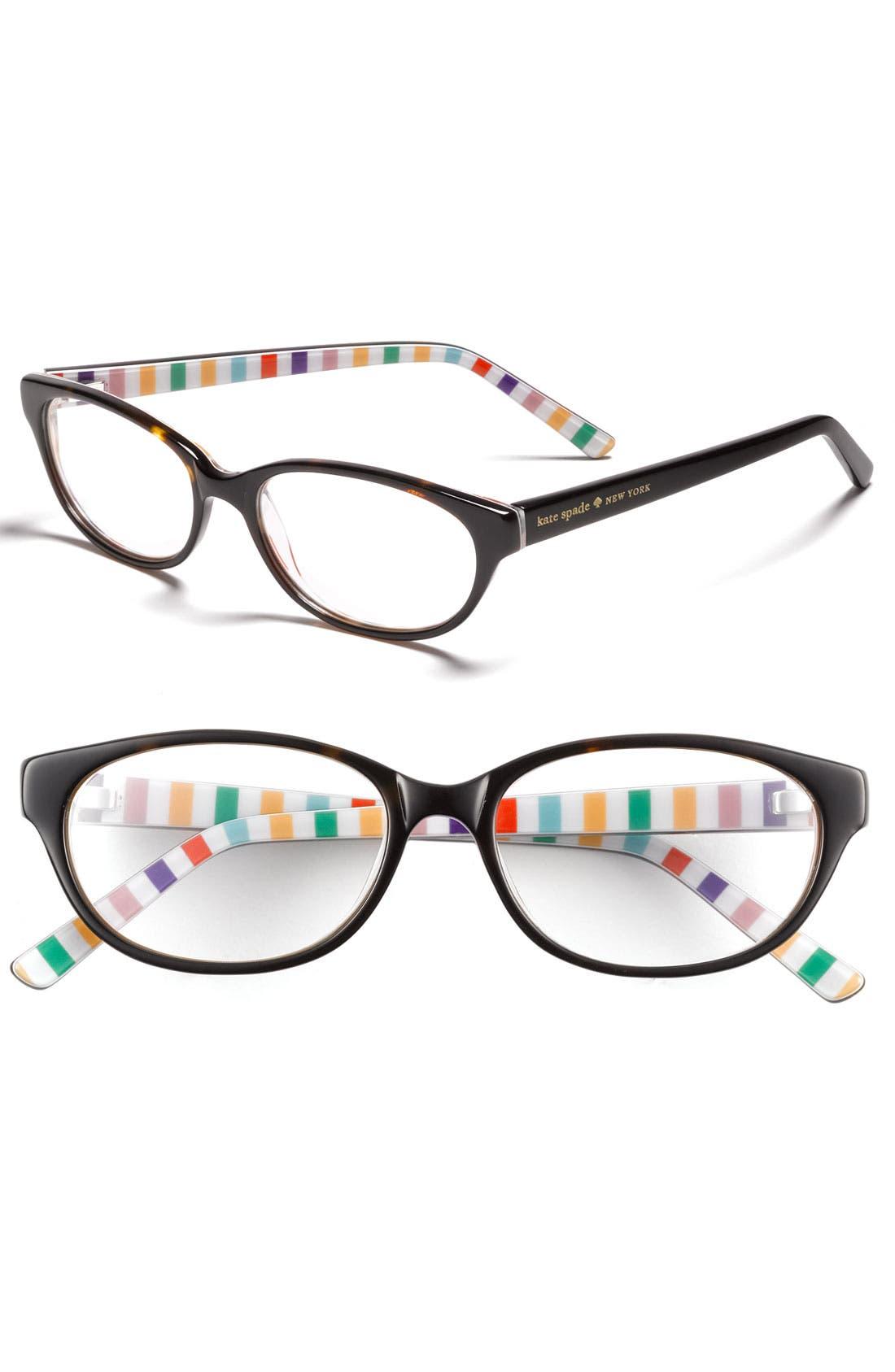 Alternate Image 1 Selected - kate spade new york 'charity' reading glasses (2 for $88)