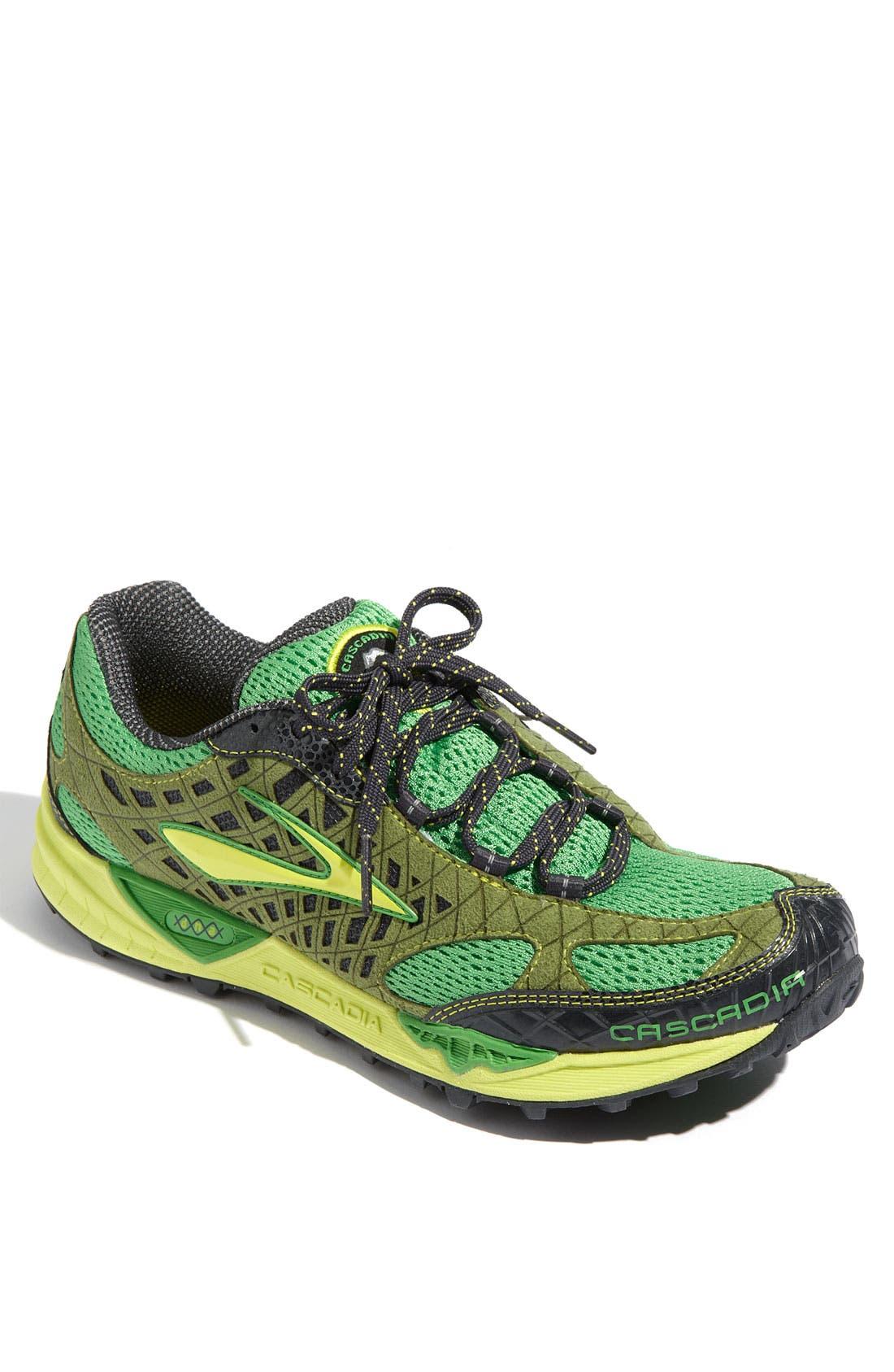 Alternate Image 1 Selected - Brooks 'Cascadia 7' Trail Running Shoe (Men)