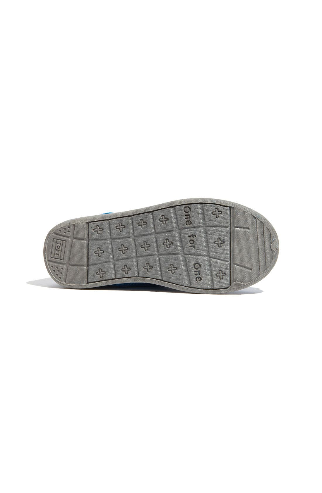 Alternate Image 4  - TOMS 'Cordones - Tiny' Woolen Slip-On Sneaker (Baby, Walker & Toddler)
