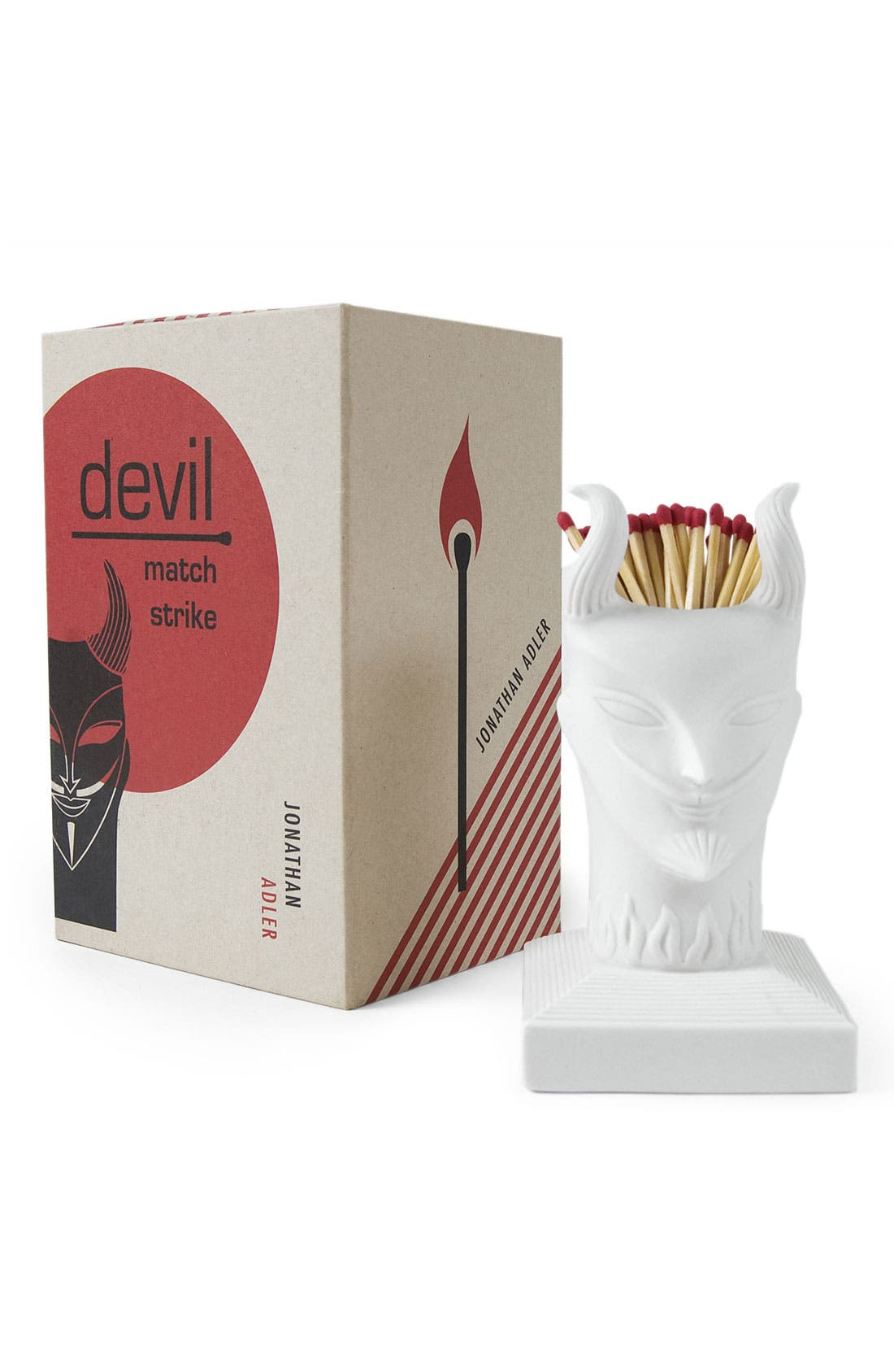 Alternate Image 1 Selected - Jonathan Adler 'Devil' Porcelain Match Strike