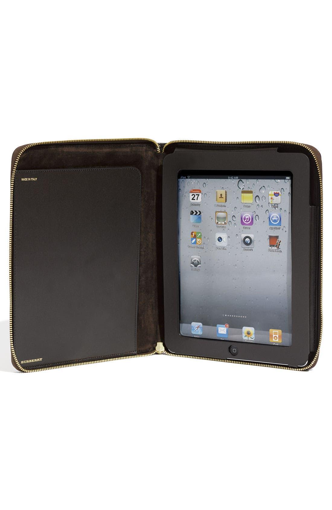 Alternate Image 2  - Burberry 'Haymarket Check' Zip Around iPad 2 Case