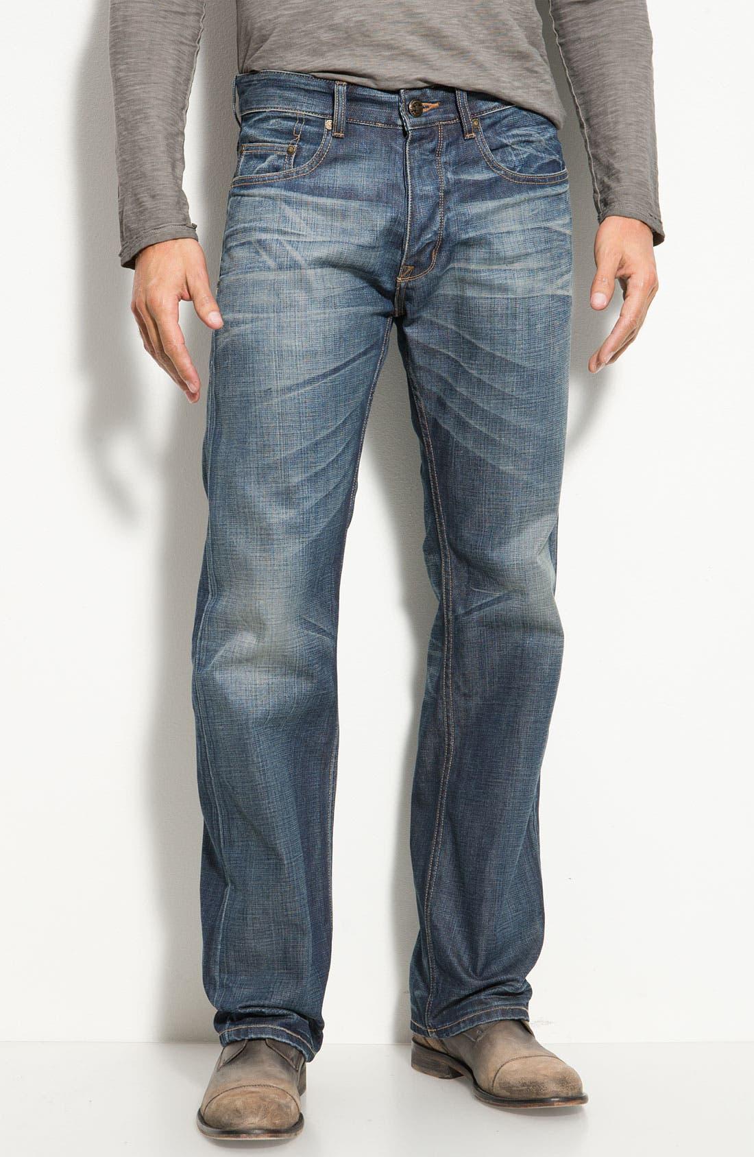 Alternate Image 2  - 7 Diamonds 'Romley' Straight Leg Jeans (Dusk)