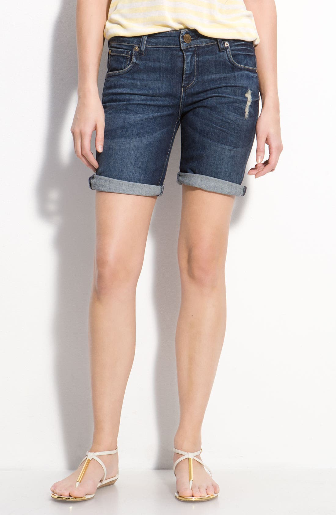 Alternate Image 1 Selected - Kut from the Kloth Boyfriend Shorts