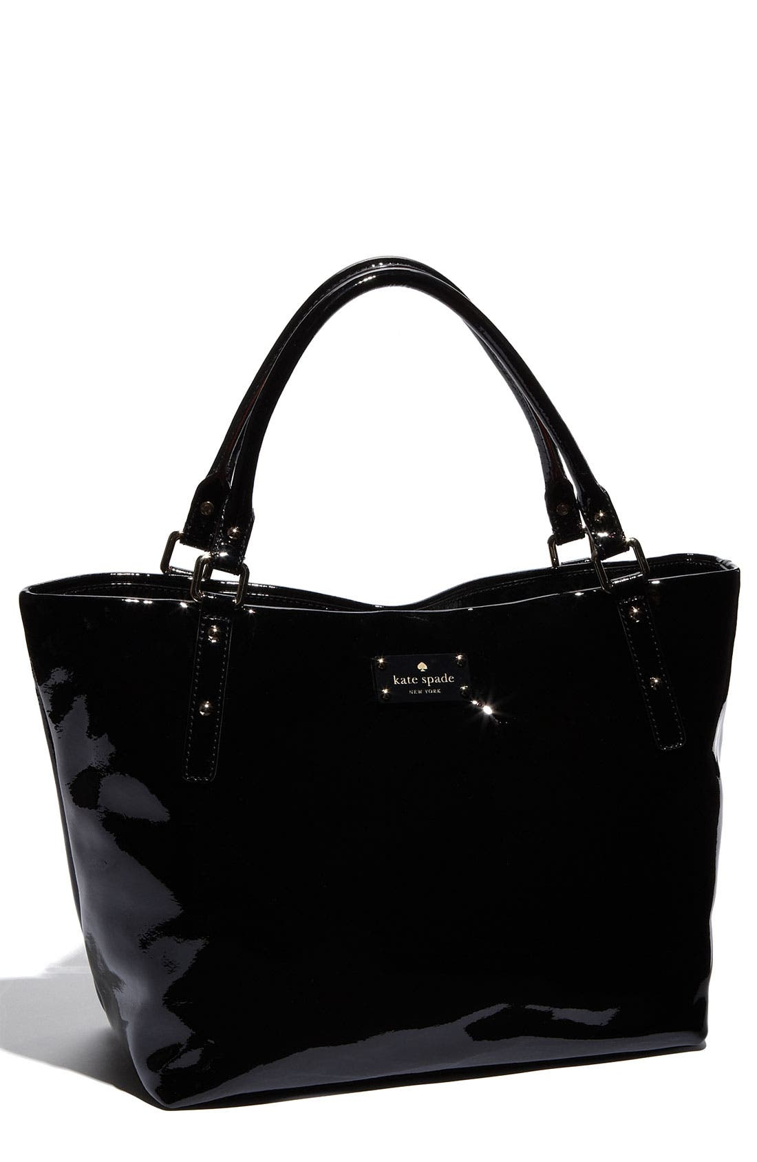 Alternate Image 1 Selected - kate spade new york 'flicker - sophie' patent shoulder bag