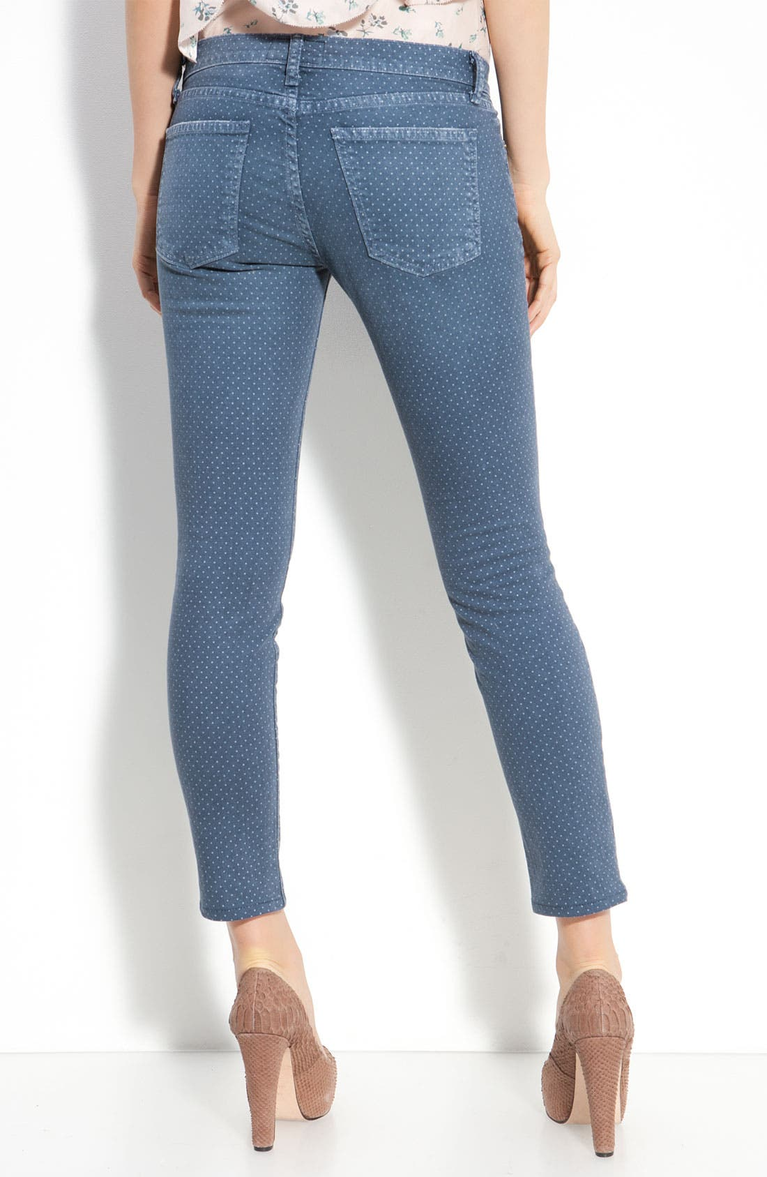 Alternate Image 2  - Current/Elliott 'The Stiletto' Stretch Jeans (Lake Wash)