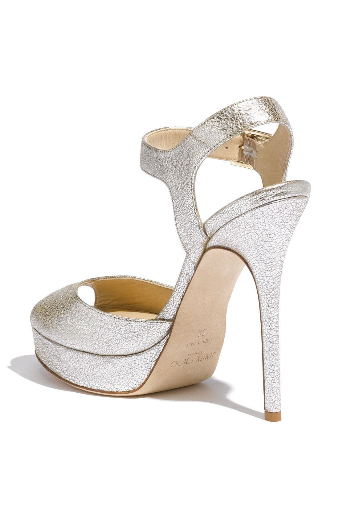 Alternate Image 2  - Jimmy Choo 'Linda' Sandal (Exclusive Color)