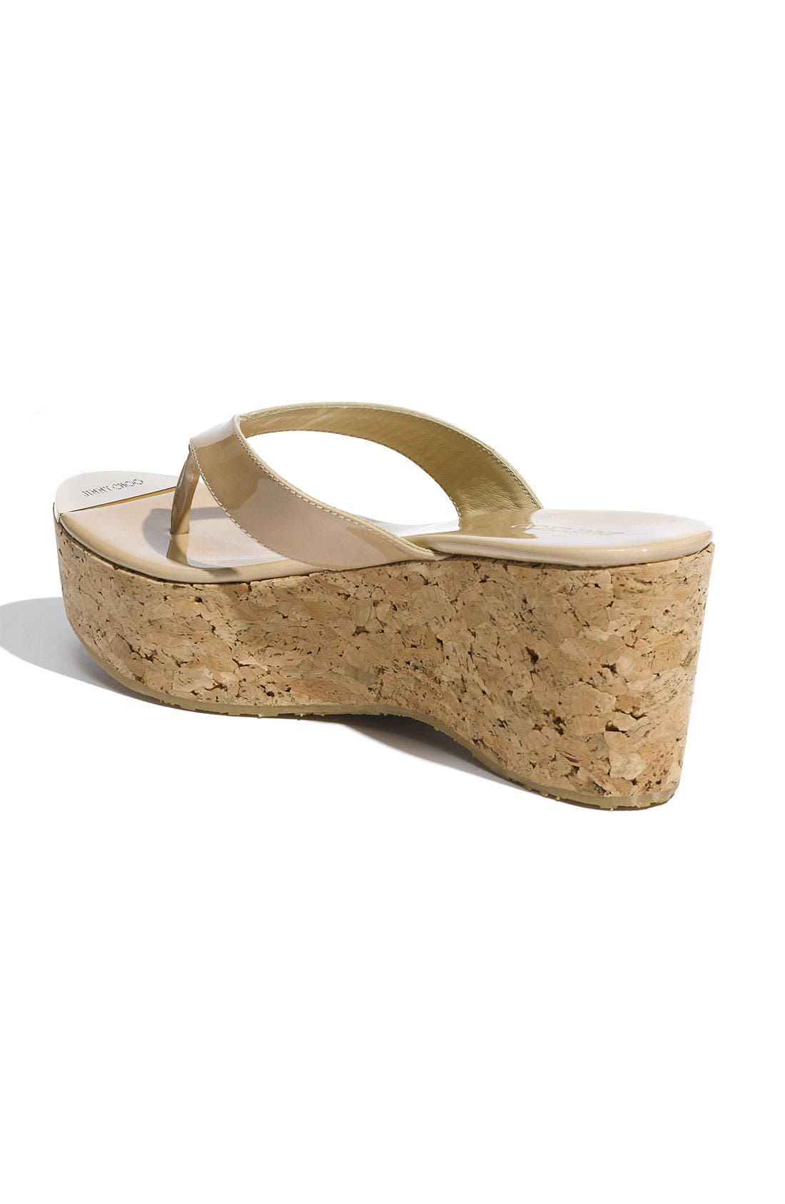 Alternate Image 2  - Jimmy Choo 'Pathos Pat' Cork Wedge Sandal