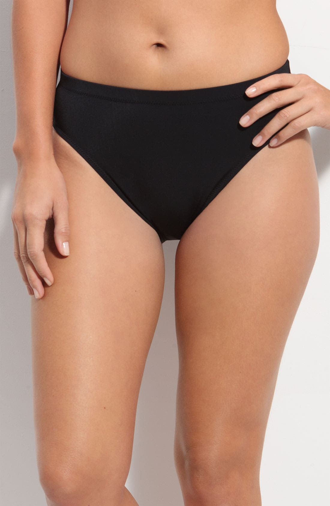 Alternate Image 1 Selected - Profile by Gottex High Waist Bikini Bottoms