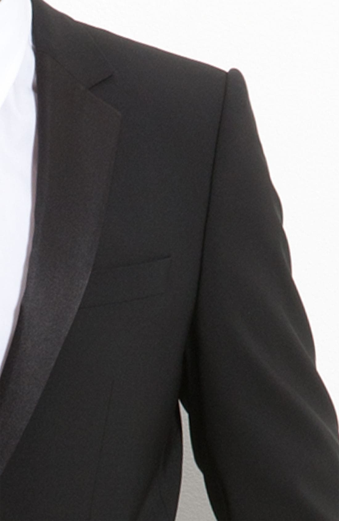 Alternate Image 3  - HUGO 'Aikin Hollo' Trim Fit Wool Tuxedo
