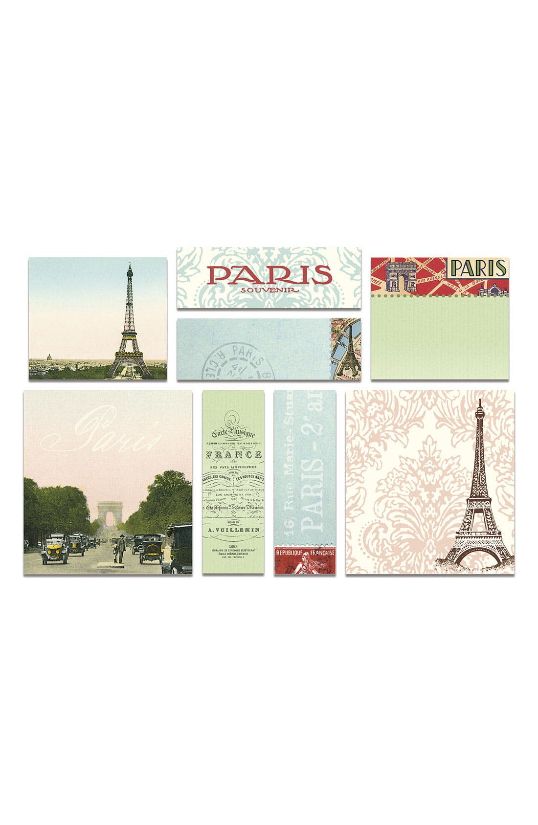 Alternate Image 2  - Cavallini & Co. 'Paris' Sticky Notes (Set of 8)