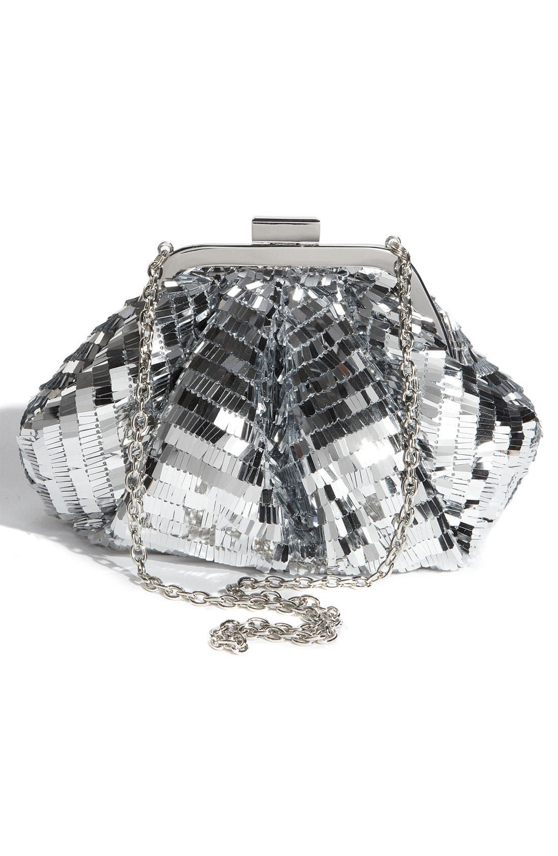 Alternate Image 4  - Sondra Roberts Sequin Pouch Clutch