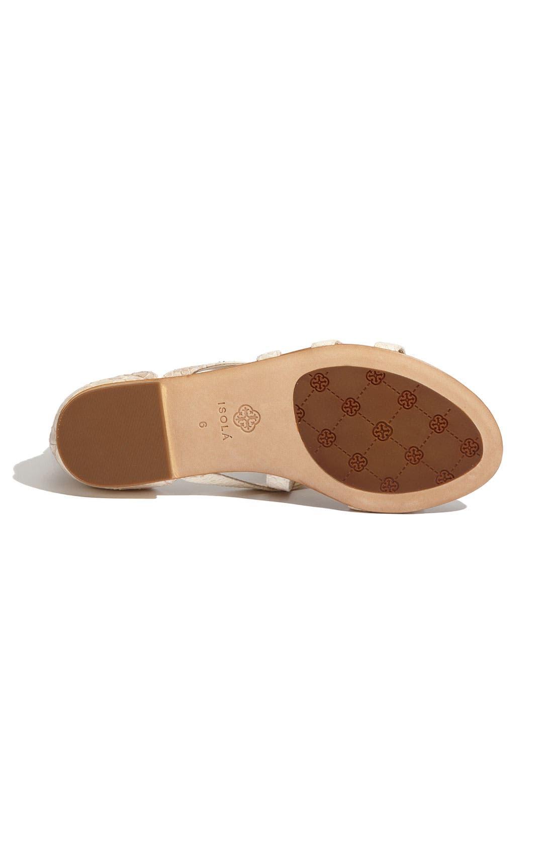 Alternate Image 4  - Isolá 'Adriel' Flat Sandal