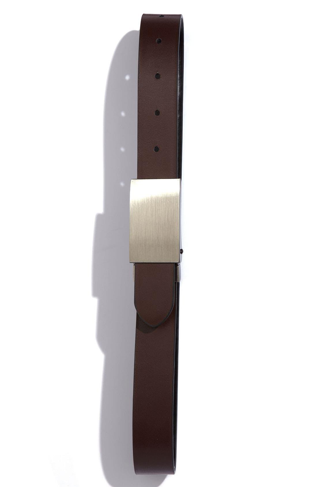 Alternate Image 2  - Joseph Abboud Reversible Belt (Big Boys)