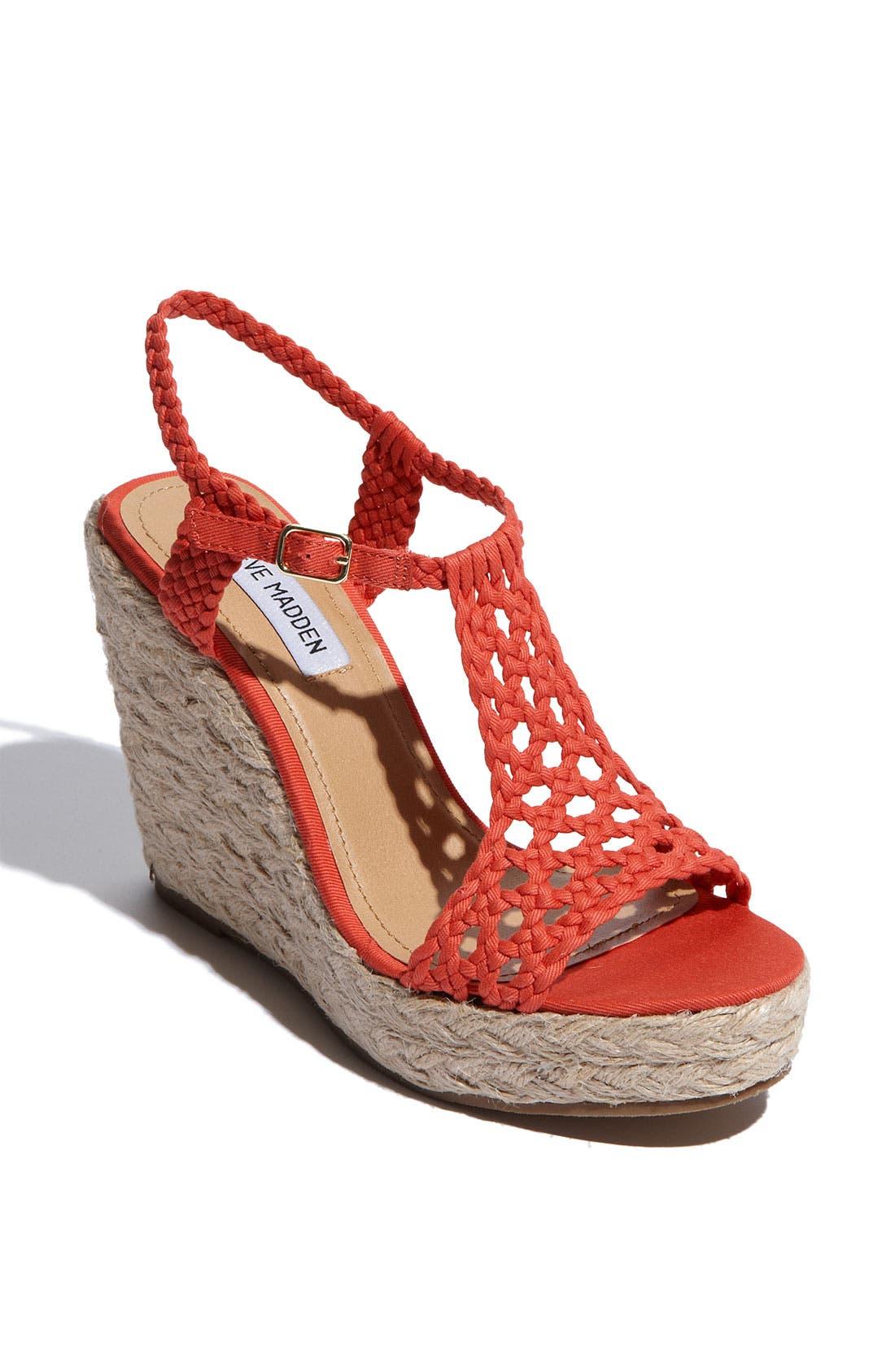 Alternate Image 1 Selected - Steve Madden 'Manngo' Woven Sandal
