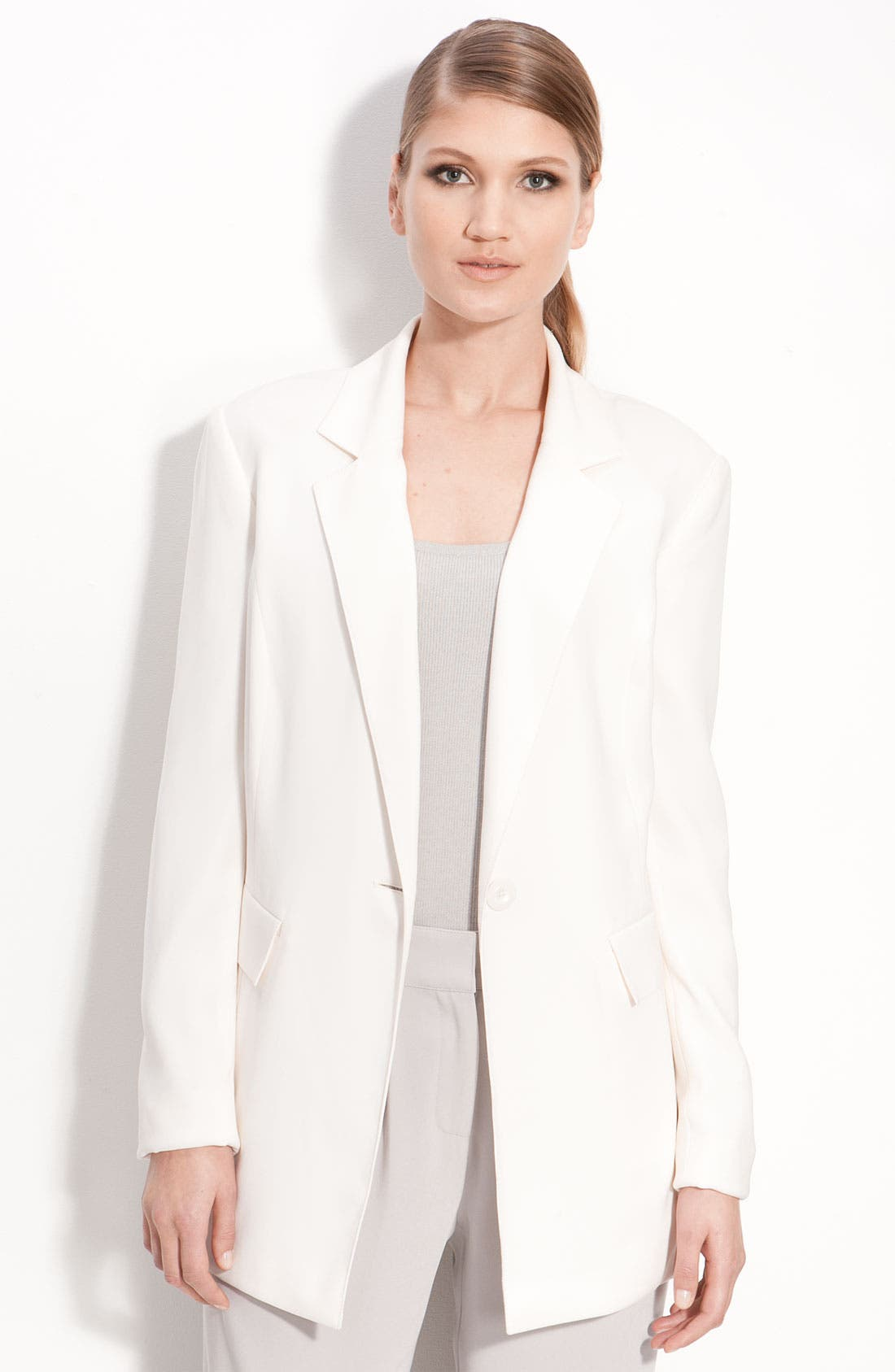 Alternate Image 1 Selected - St. John Collection Easy Fit Blazer