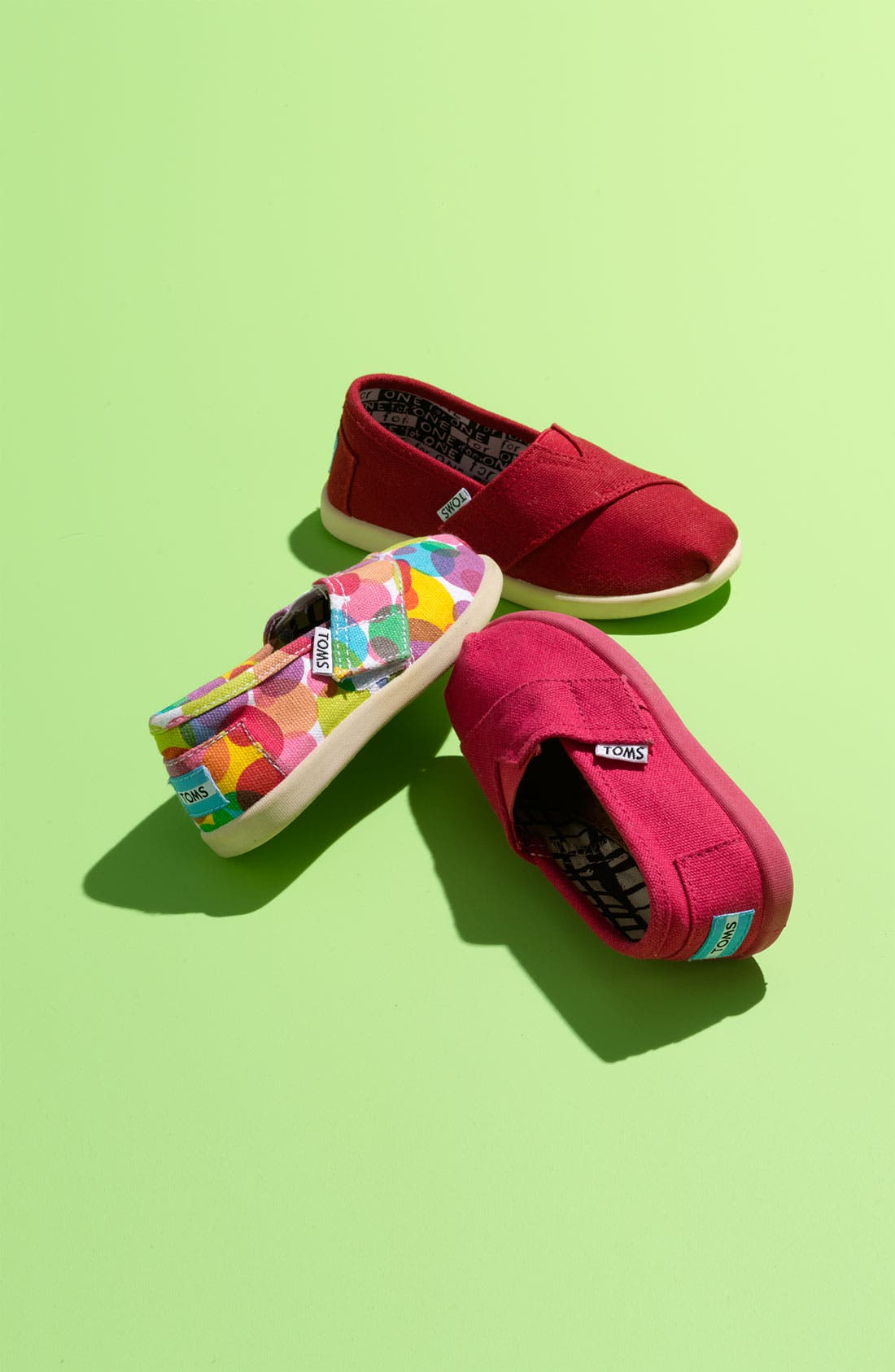 Alternate Image 5  - TOMS 'Classic Tiny - Clea' Slip-On (Baby, Walker & Toddler)