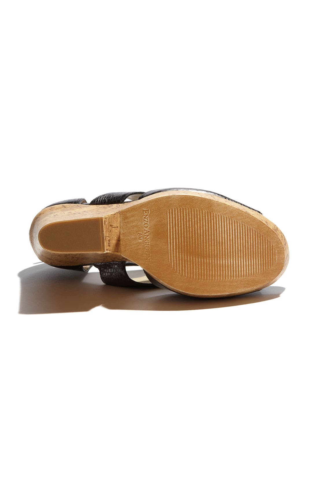 Alternate Image 4  - Enzo Angiolini 'Dossil' Wedge Sandal