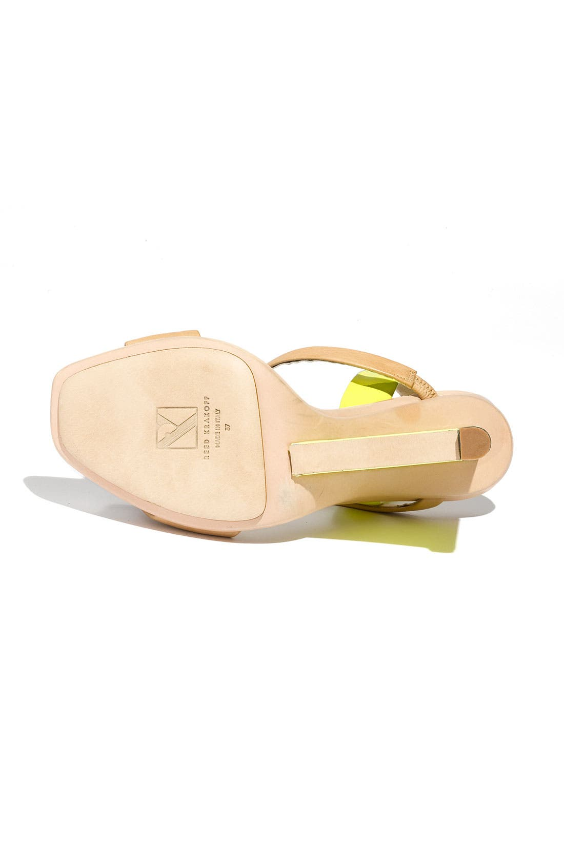 Alternate Image 4  - Reed Krakoff 'Architect' Wedge Sandal