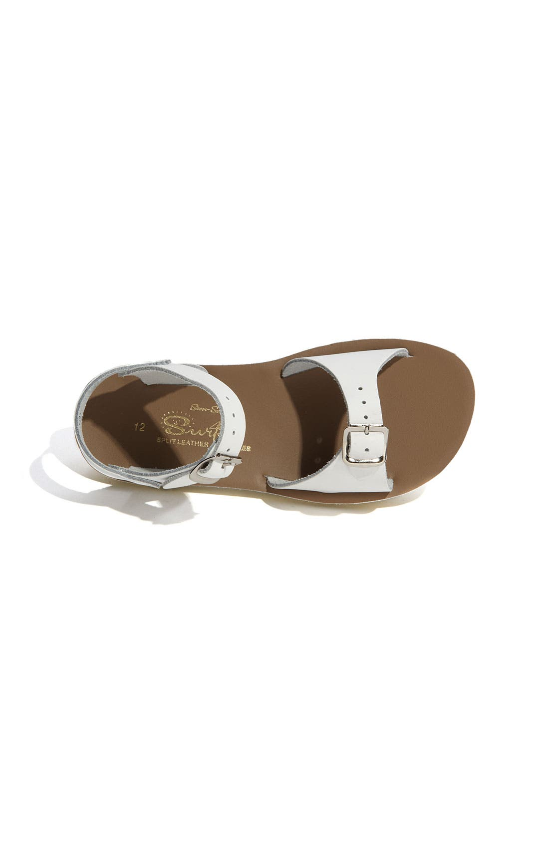 Alternate Image 5  - Salt Water Sandals by Hoy 'Surfer' Sandal (Baby, Walker, Toddler & Little Kid)