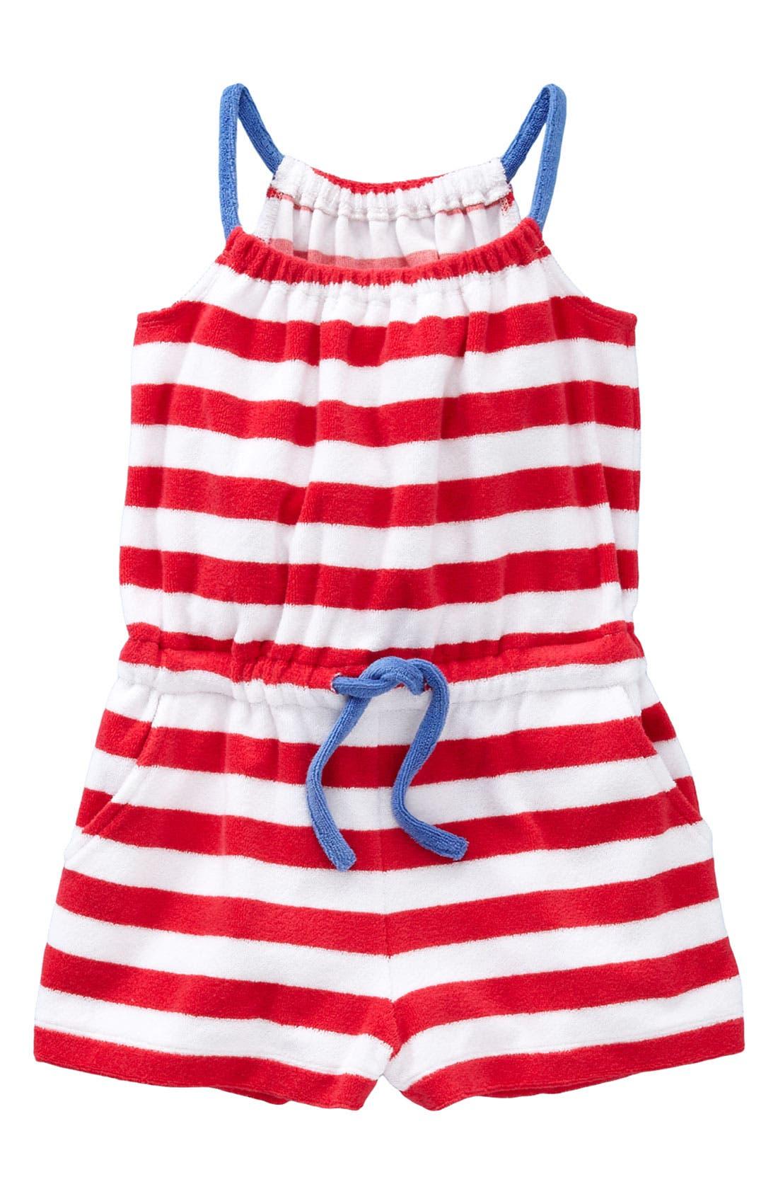 Alternate Image 1 Selected - Mini Boden Romper (Toddler)