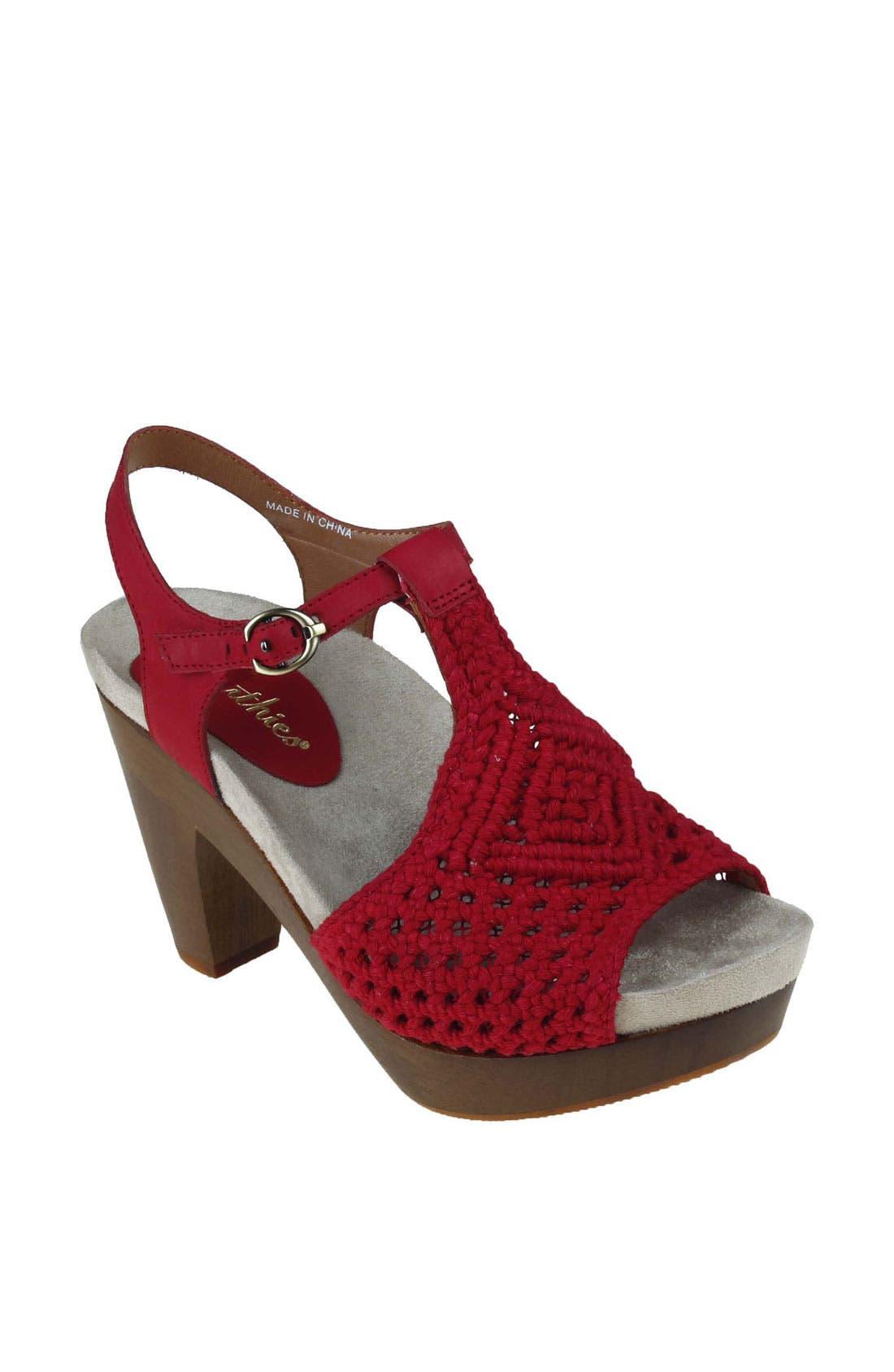 Alternate Image 1 Selected - Earthies® 'Amalfi' Sandal