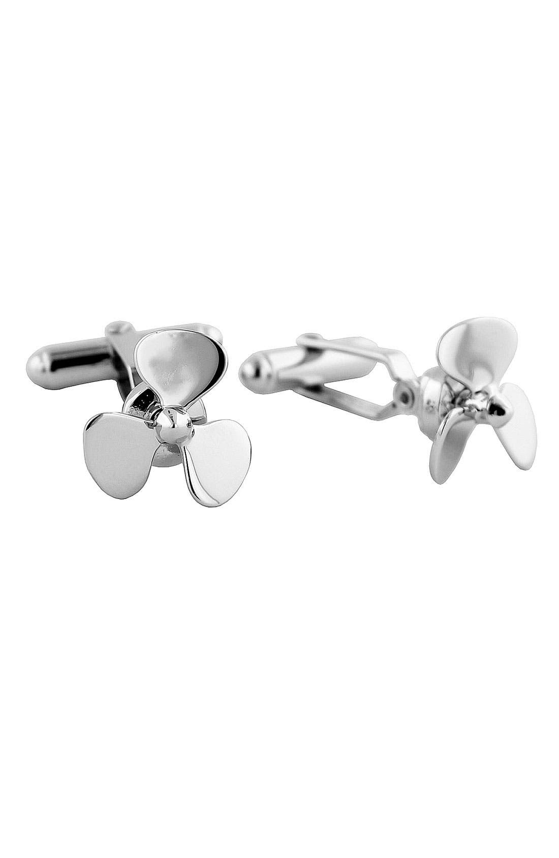 Alternate Image 1 Selected - David Donahue 'Propeller' Cuff Links
