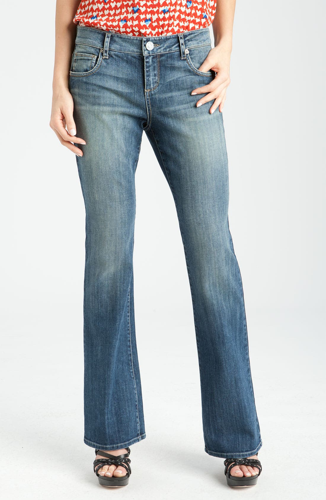 Alternate Image 1 Selected - KUT from the Kloth Baby Bootcut Jeans (Experience Wash)