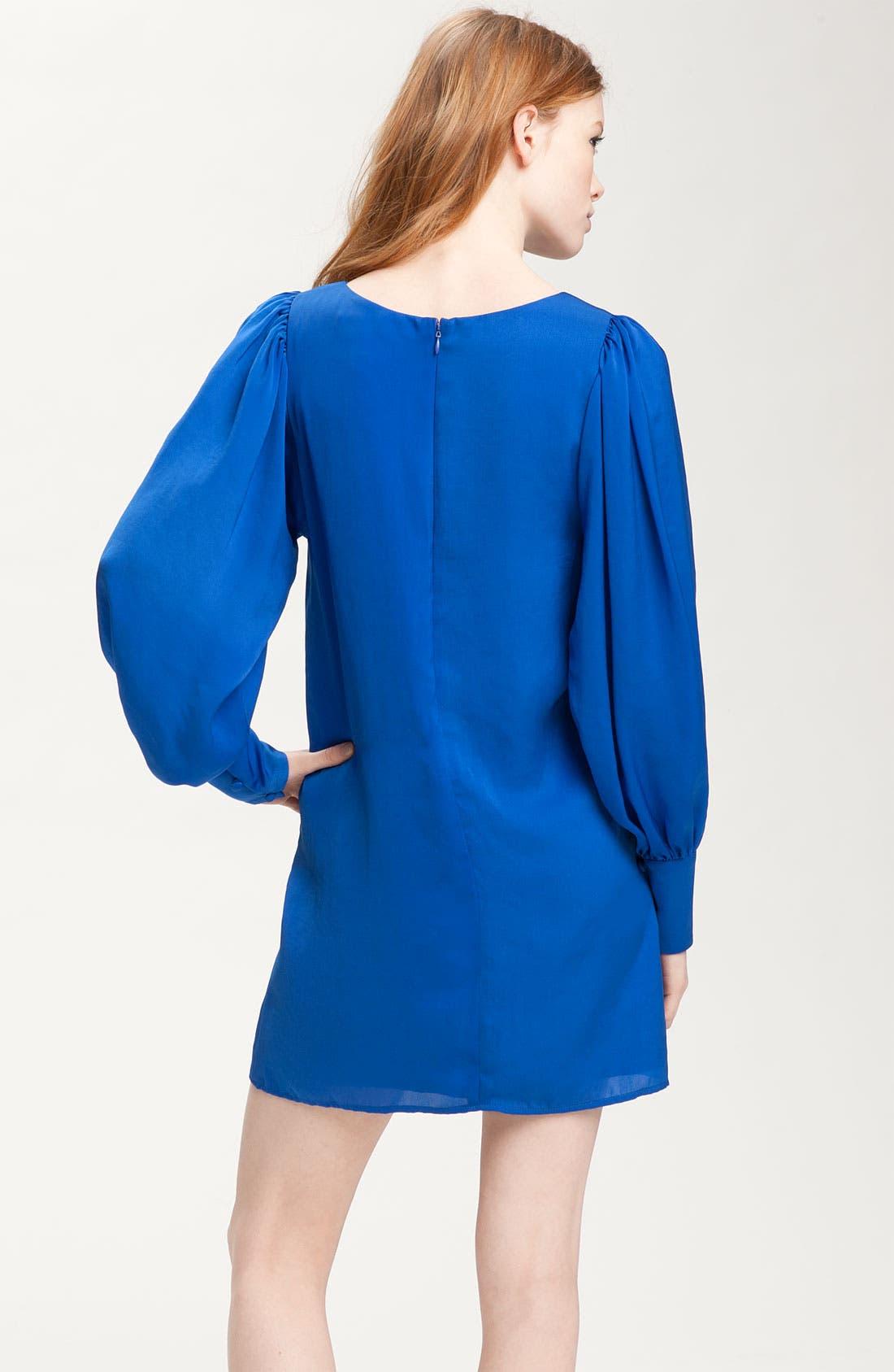 Alternate Image 2  - Rory Beca 'Juliette' Gathered Sleeve Shift Dress