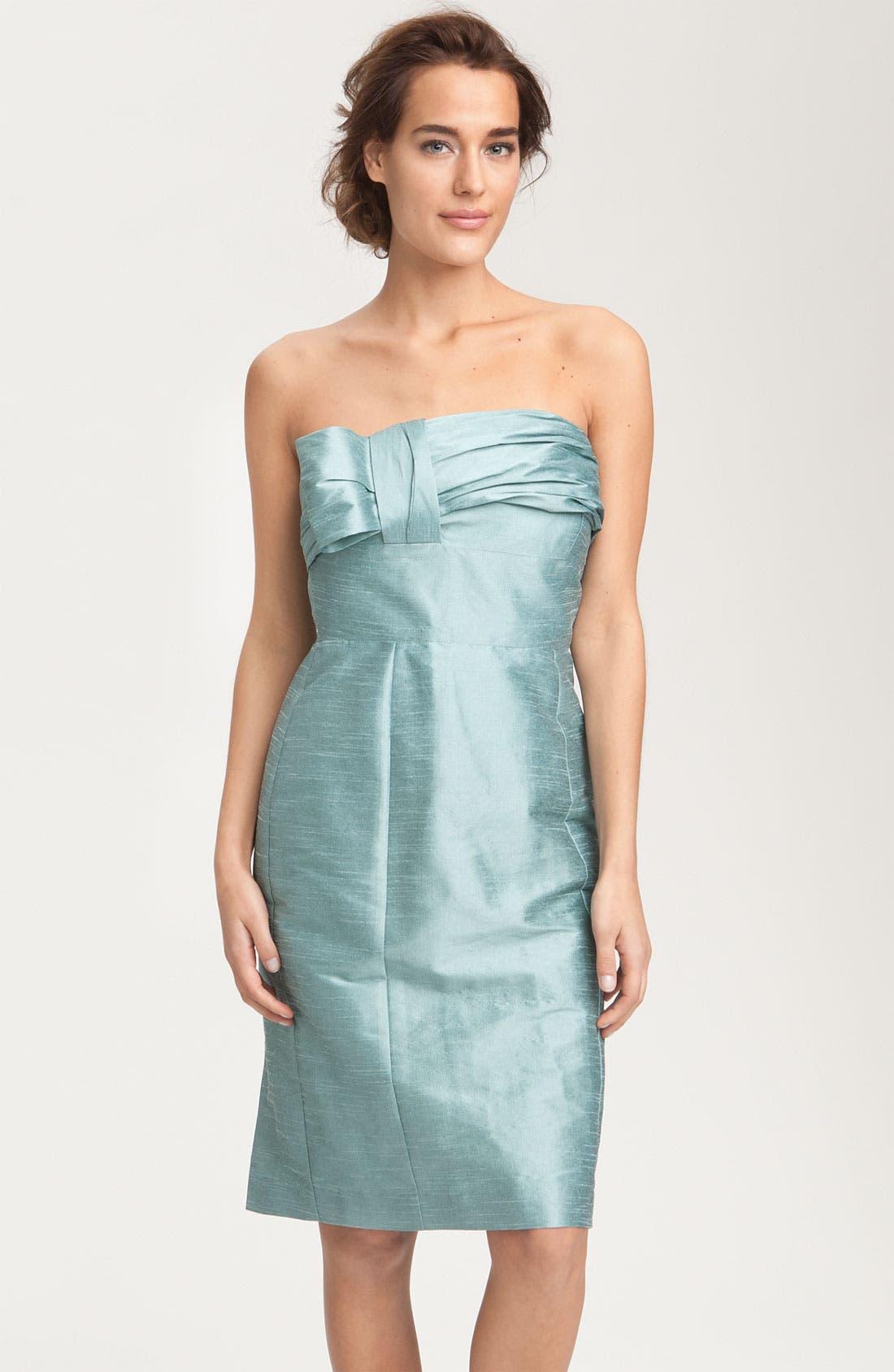Alternate Image 8  - Anna Elyse Bridesmaids Convertible Shantung Dress