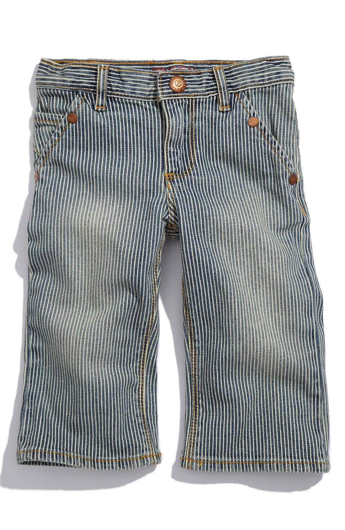 Alternate Image 2  - Peek 'Big Peanut' Jeans (Infant)