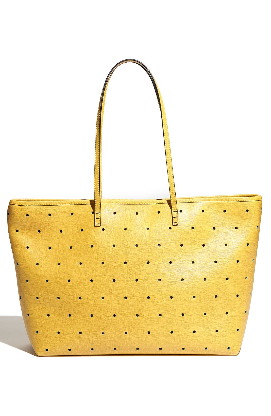Alternate Image 4  - Fendi 'Roll' Perforated Tote