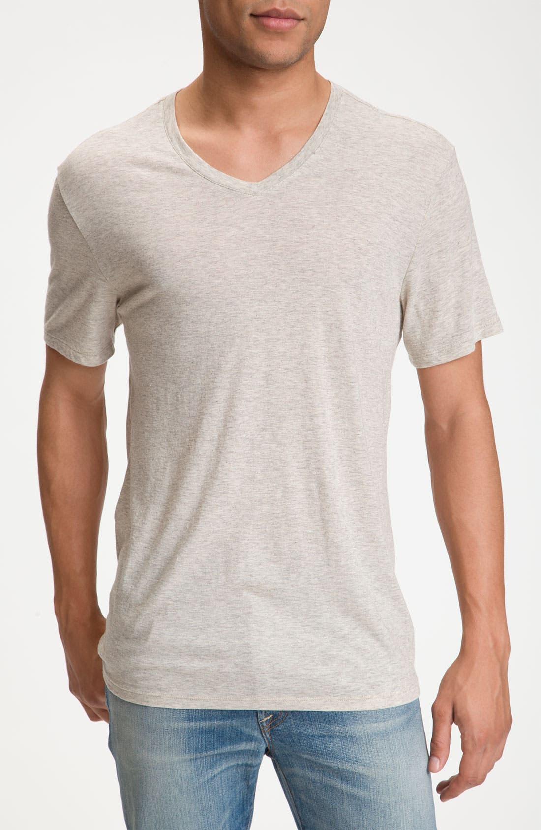 Alternate Image 1 Selected - Vince Short Sleeve V-Neck T-Shirt