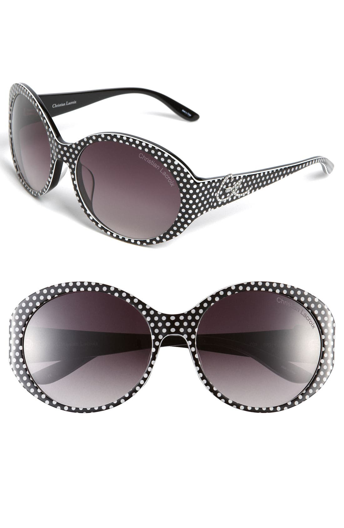 Alternate Image 1 Selected - Christian Lacroix Large Sunglasses